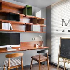 精选70平米二居书房现代装修图片