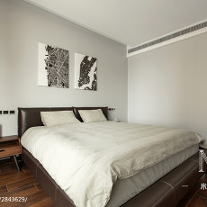 精美面积71平现代二居卧室效果图