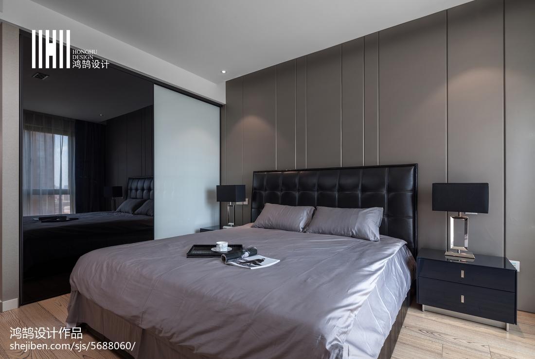 精美大小107平现代三居卧室装饰图片大全