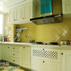精美101平米三居厨房美式效果图