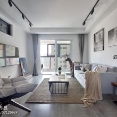 108平方三居客厅现代欣赏图片大全