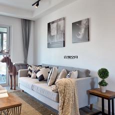 大气101平现代三居客厅装修案例
