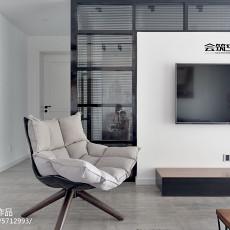 2018精选109平方三居客厅现代装修效果图