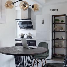 精选大小95平现代三居餐厅装修欣赏图片大全