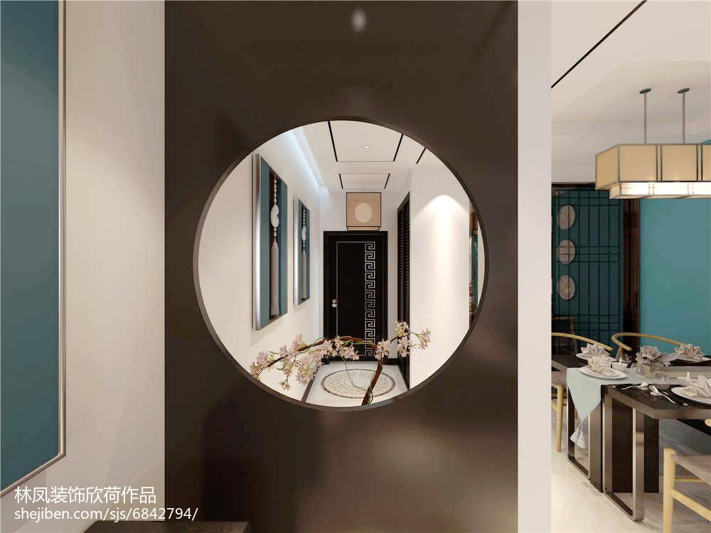 精选面积86平现代二居装修效果图片