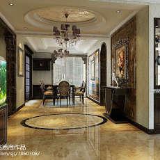 现代大户型公寓客厅装修效果图