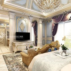 美式简装客厅装修效果图