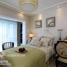 热门卧室中式装饰图