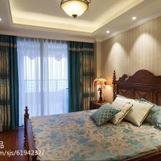 面积141平欧式四居卧室装修效果图片