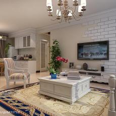 现代风格三室一厅装修效果图大全