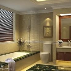 热门欧式别墅卫生间装修设计效果图