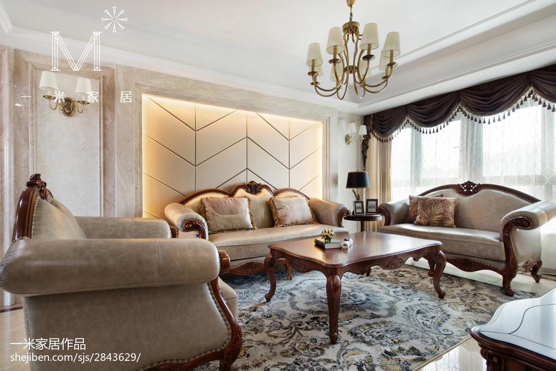 家装欧式风格客厅装饰图