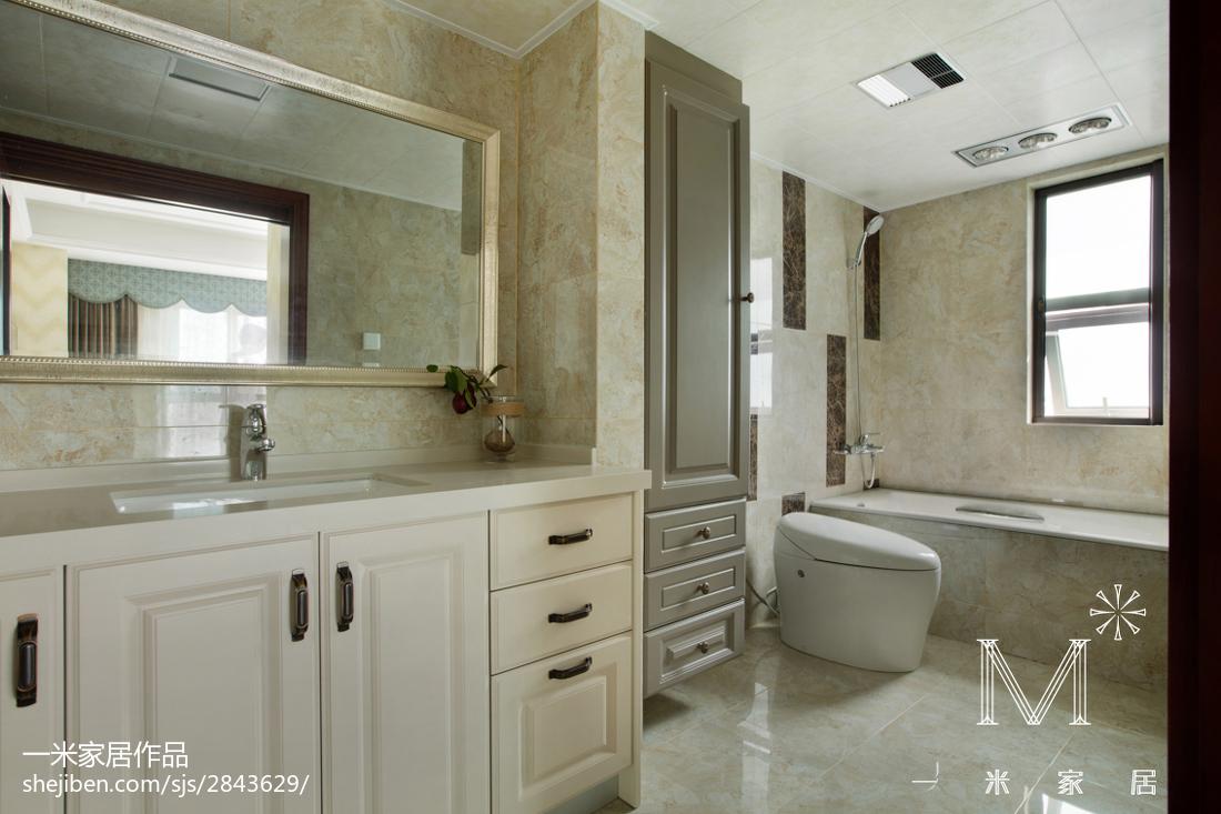 优美70平欧式二居装修效果图