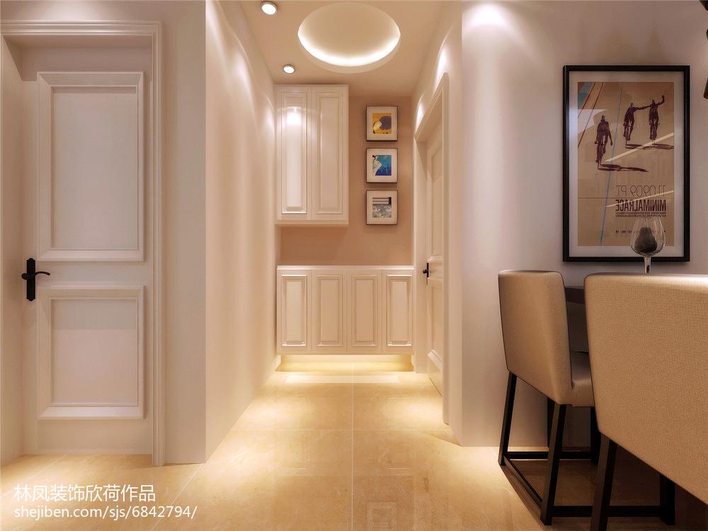 面积83平新古典二居装修欣赏图
