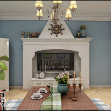 精美面积84平简约二居客厅装修实景图片大全