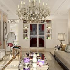 75平米二居客厅欧式装饰图片欣赏