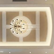 130平方欧式别墅客厅装饰图片欣赏