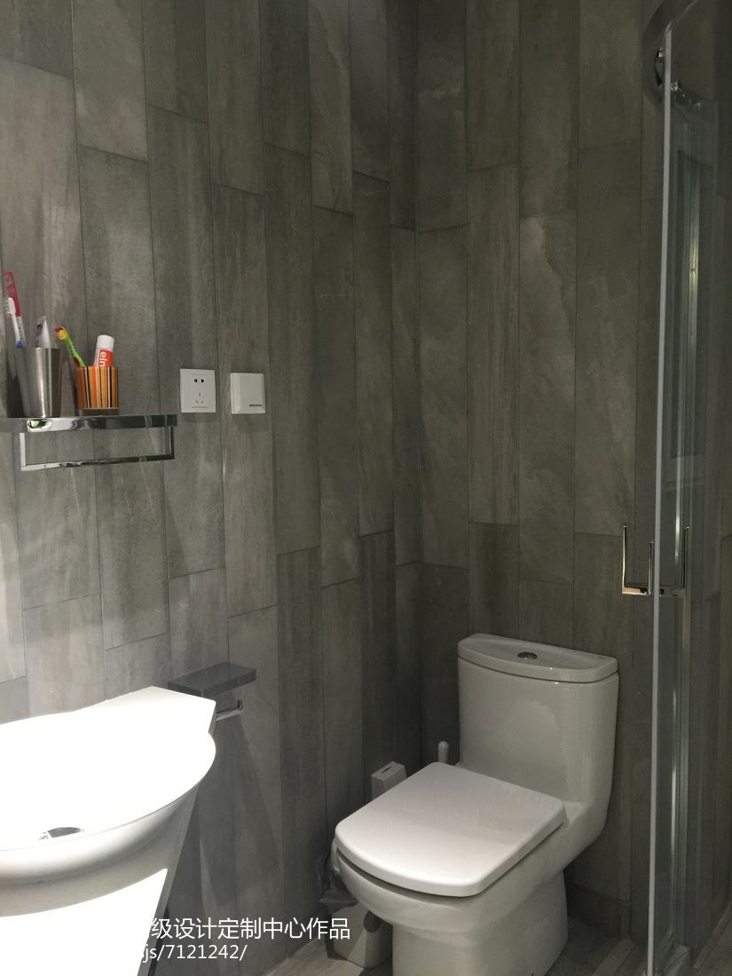 极简宜家风格卫生间家居装饰效果图
