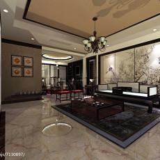 精美大小137平中式四居客厅效果图片欣赏