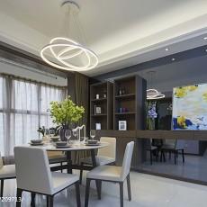 热门144平米四居餐厅简约装饰图片