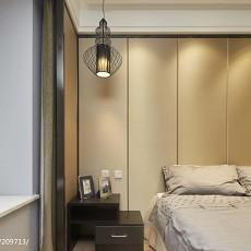 面积128平简约四居卧室装修设计效果图