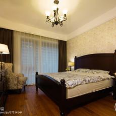 96平方三居卧室美式欣赏图片