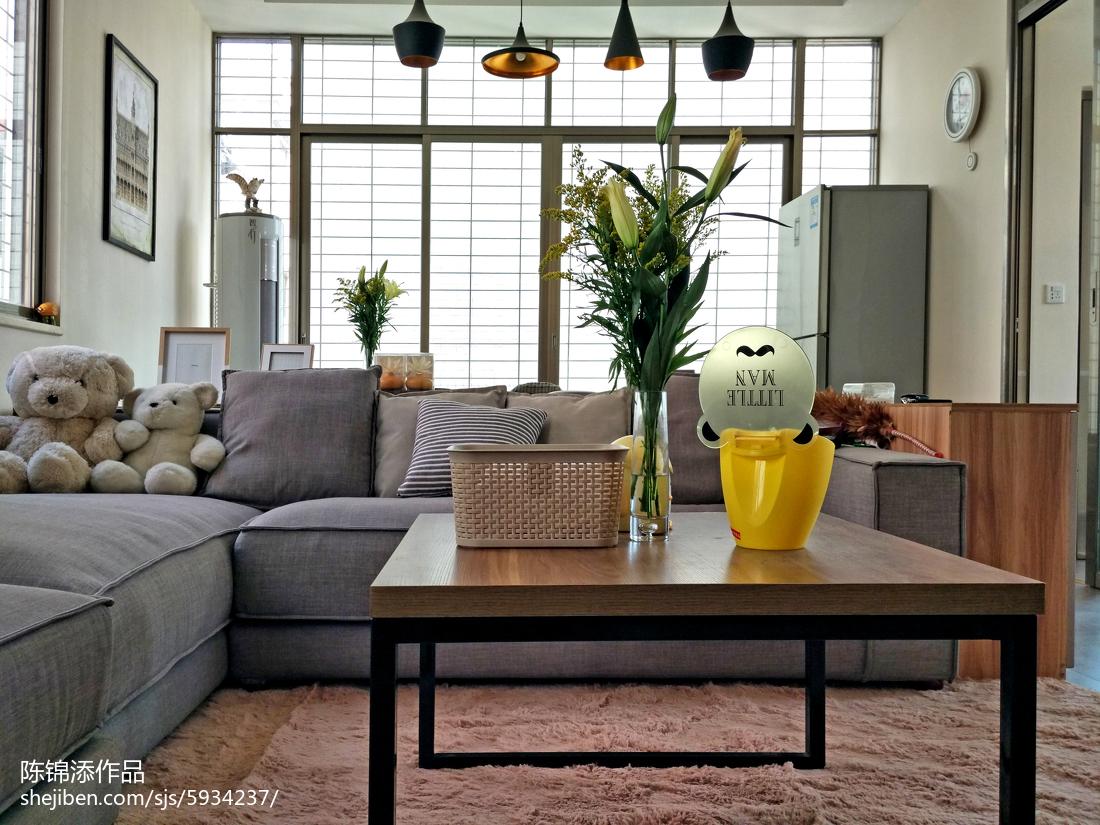 精选复式客厅现代欣赏图