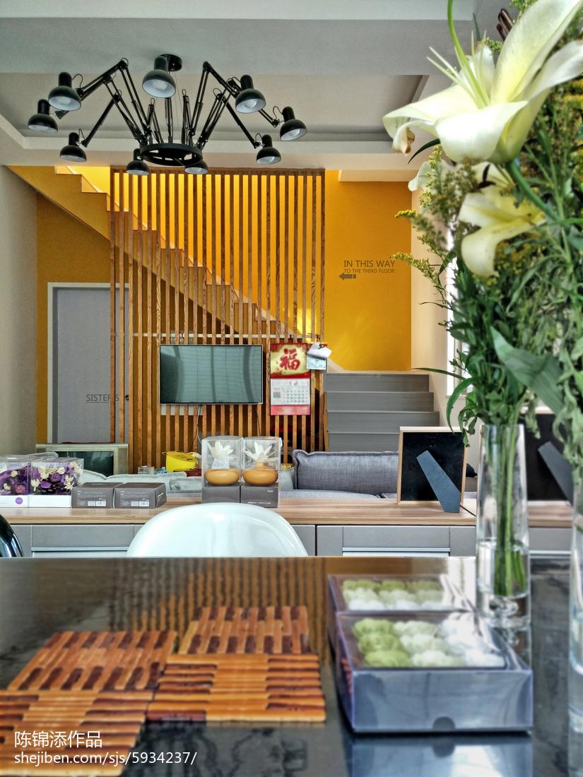 精选面积135平复式餐厅现代实景图片大全