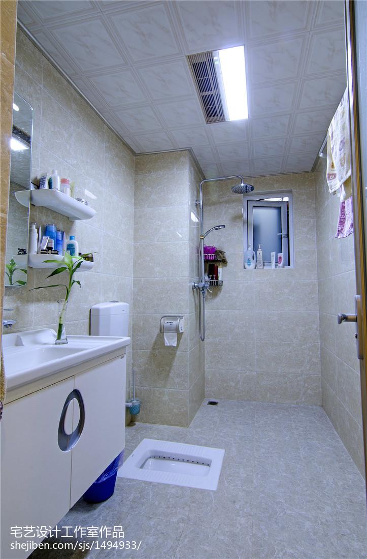 现代风格卫浴装修设计