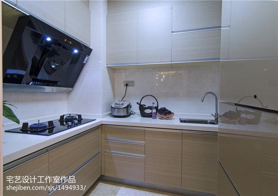 精选地中海二居厨房实景图片大全
