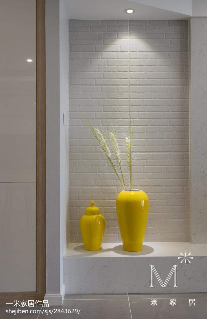 热门面积75平小户型客厅现代装修图片