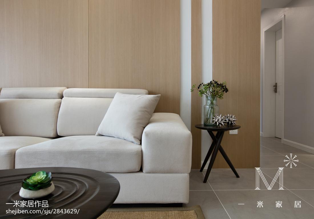 面积75平小户型客厅现代效果图片大全