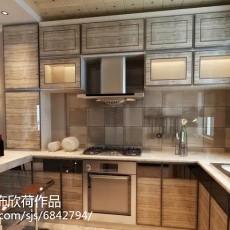 精选三居厨房现代装修设计效果图片欣赏