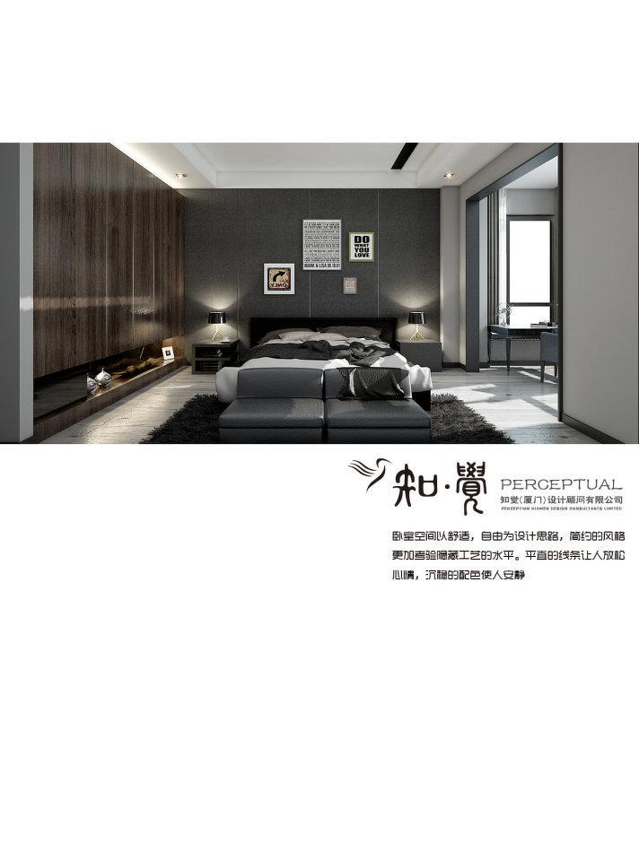 2018精选简约别墅卧室装修设计效果图片大全