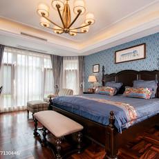 2018135平米欧式别墅卧室实景图片欣赏