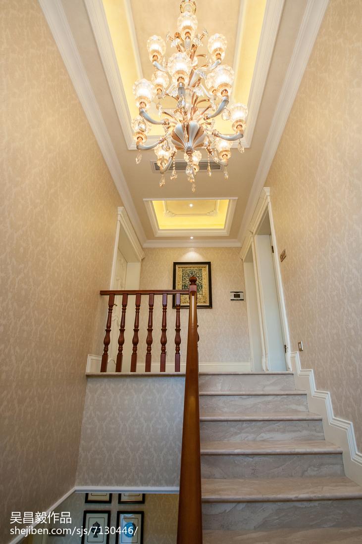 奢华欧式风格楼梯设计案例