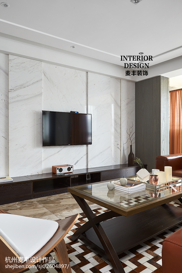 家居现代风格电视背景墙设计