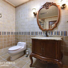 精美128平米四居卫生间欧式装修设计效果图片