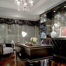 时尚家居办公室书房设计