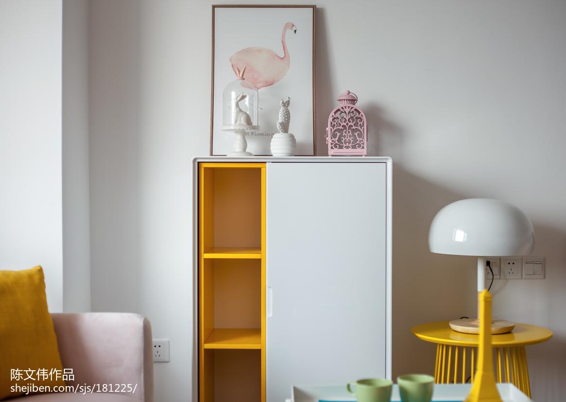 精选78平米北欧小户型卧室装修效果图