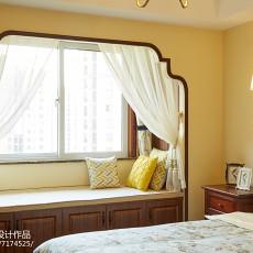 精致102平美式三居卧室设计案例