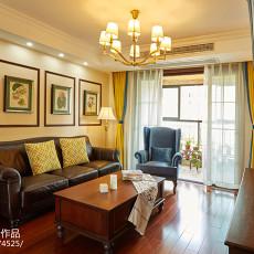 精选99平方三居客厅美式设计效果图