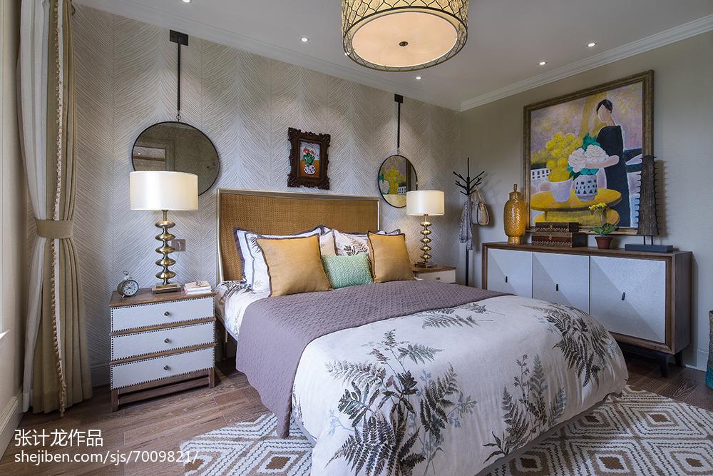 精美欧式卧室装修实景图片欣赏