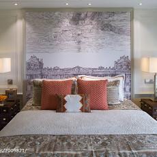 2018欧式卧室装修效果图片