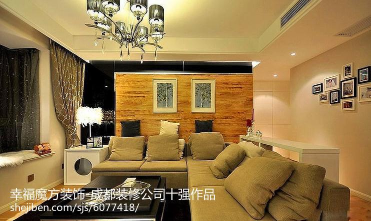 浪漫新古典风格四居室装修效果图