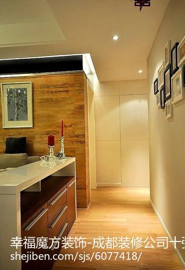 时尚质感新古典风格四居室装修效果图