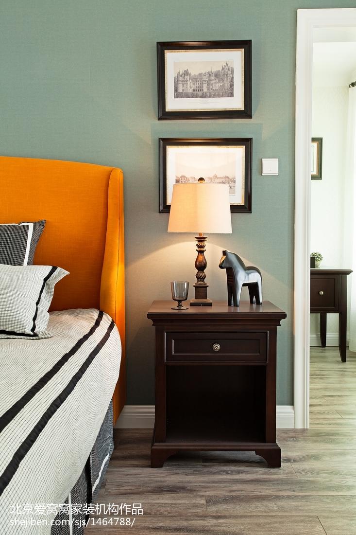 精选106平米三居卧室欧式装修图片