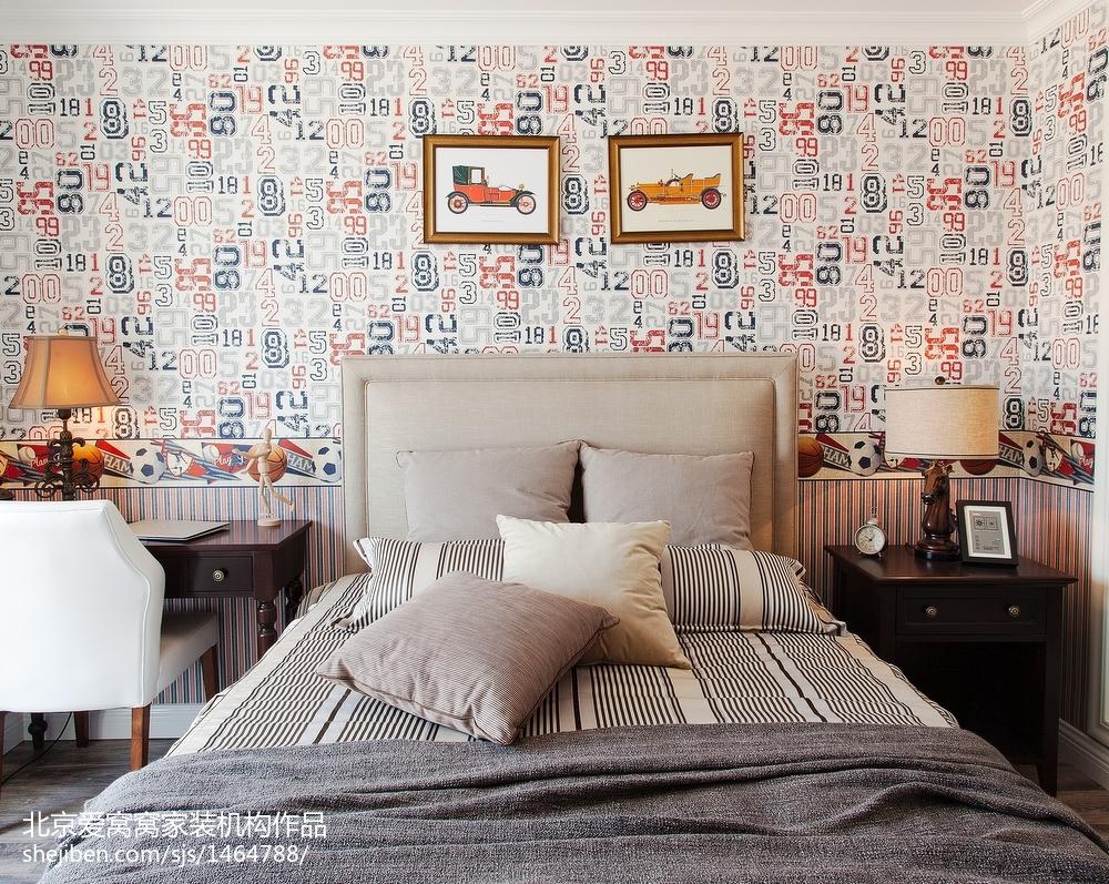 精选100平米三居卧室欧式装修效果图片大全