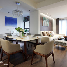 优美53平现代二居餐厅设计案例