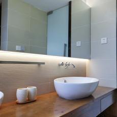 明亮74平现代二居卫生间设计效果图